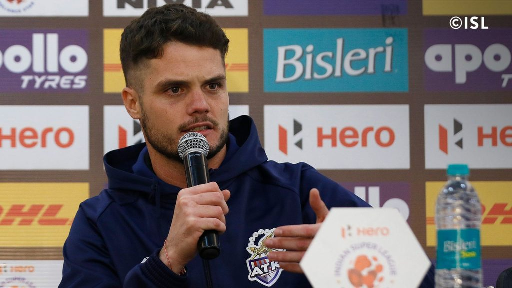 ATK's assistant coach Manuel Perez Cascallana, a UEFA pro licence holding sports scientist, work with the team was commendable. (Image: ISL)