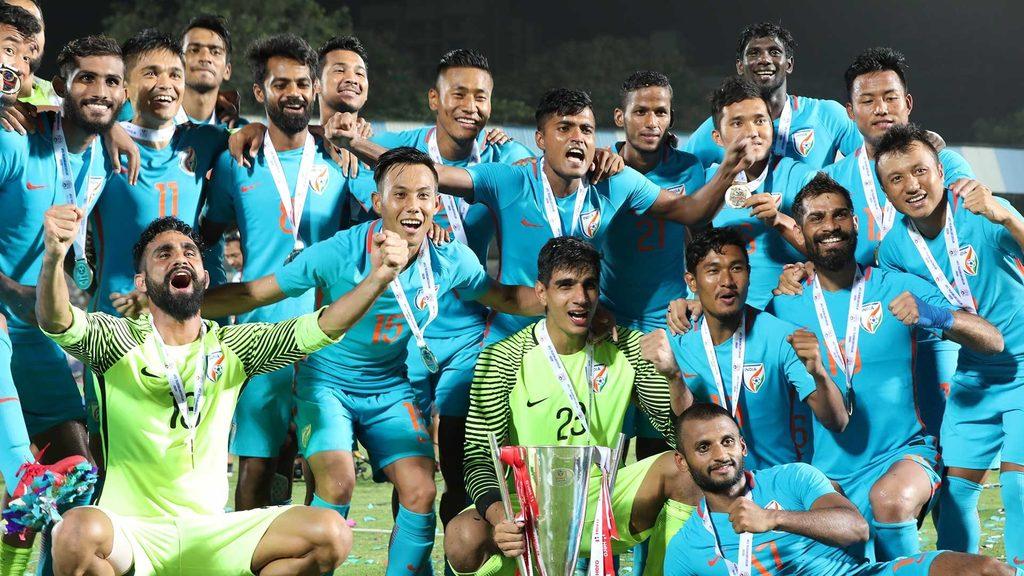 Chhetri's magic seals Hero Intercontinental Cup for India