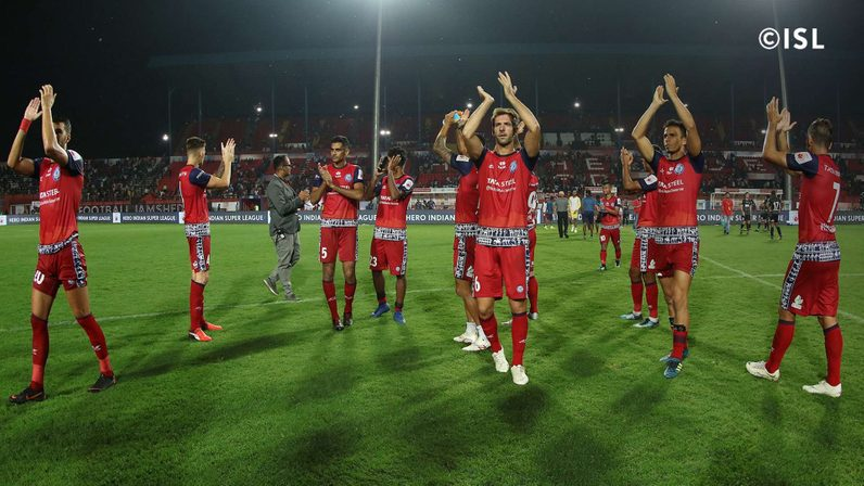 Jamshedpur FC spilled points in their first home game (Credits-indiansuperleague.com)